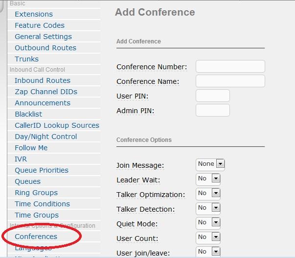 Conferences in Elastix