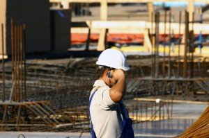 A call from a construction site